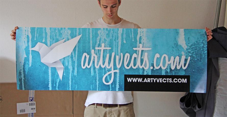 Artyvects Spannweite - 100 Meter breite Flügel